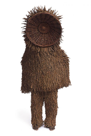 costume of twigs