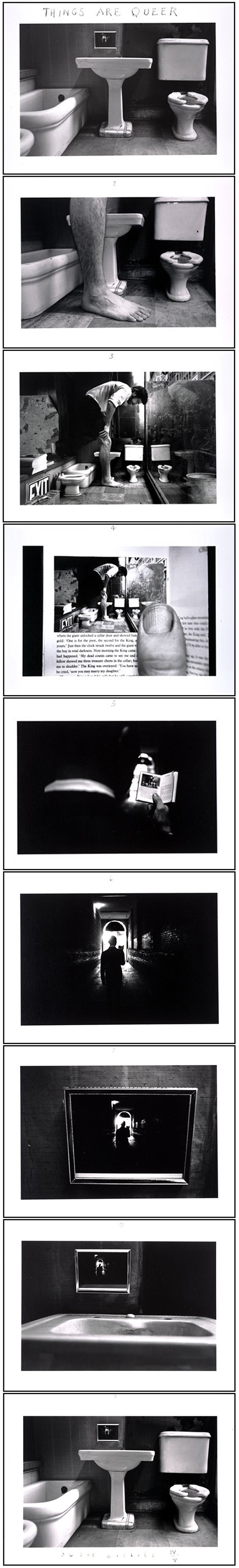 Duane Michals photo series