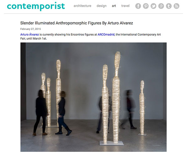 front page of contemporist website