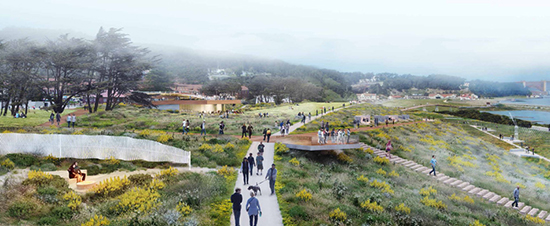 Proposal for New Presidio Parklands by the CMG team