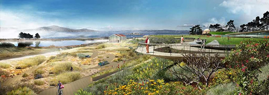 Proposal for New Presidio Parkland by James Corner Field Operations