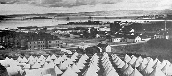 Historic view of Presidio