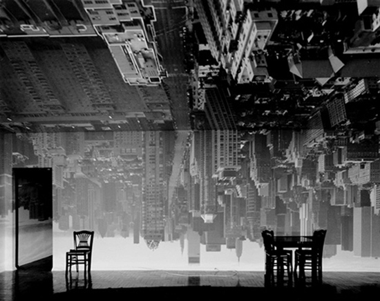 camera obscura image by Abelardo Morell