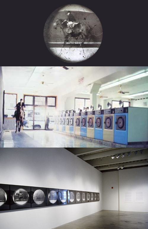 Steven Pippin converted washing machines into pinhole cameras