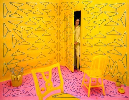 Installation and photograph by Sandy Skoglund