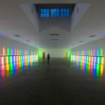 Dan Flavin light installation