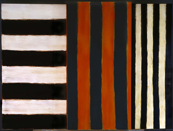 stripe painting vy Sean Scully