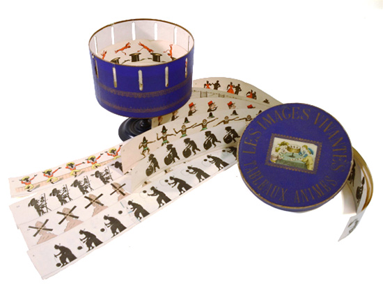 zoetrope and drawings