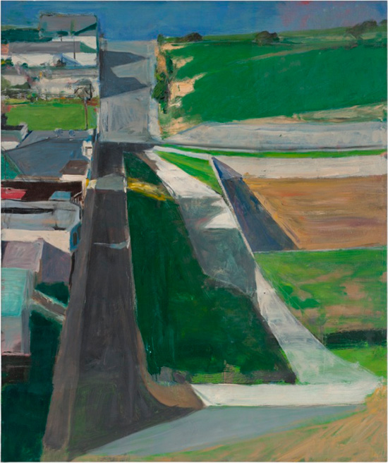 """Cityscape 1"" an oil painting by Richard Diebenkorn"
