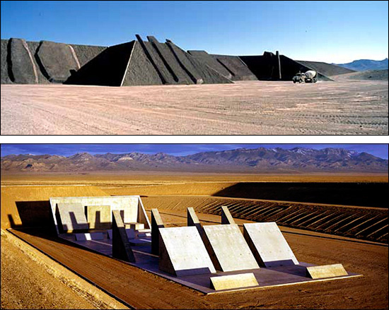 City, earthwork, by Michael Heizer
