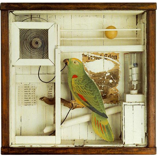 "Joseph Cornell collage, ""Untitled (the Hotel Eden)"""