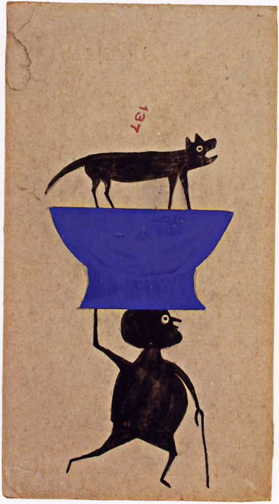Drawing by Bill Traylor