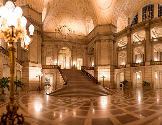 Foyer of San Francisco City Hall