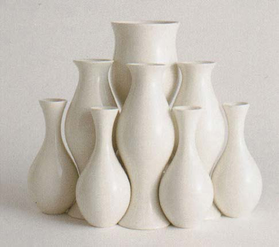 Ceramic vases by Eva Zeisel