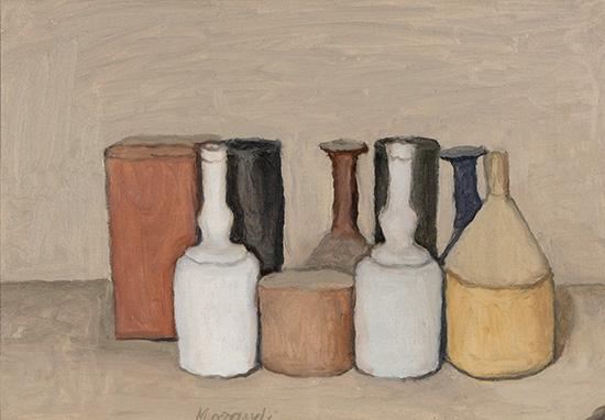 Giorgio Morandi still life painting