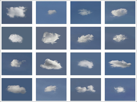 photographic typology of clouds by Christian Webb