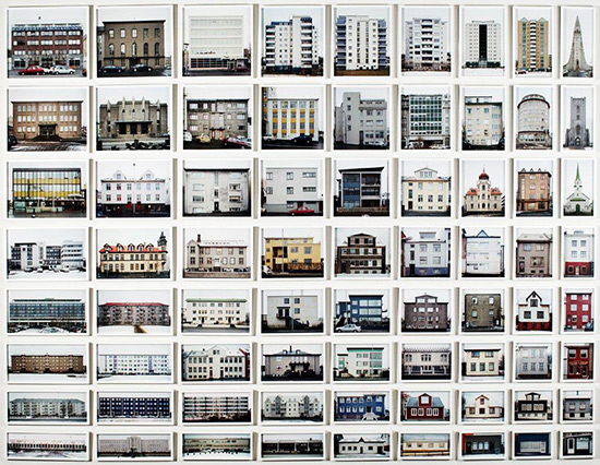 Photographic typology by Olafur Eliasson