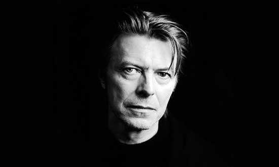 Photograph of Davie Bowie