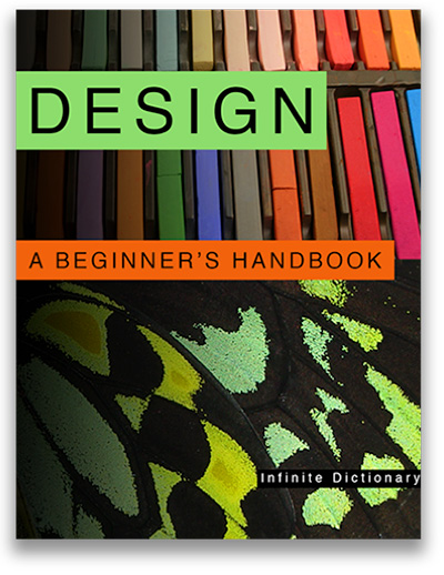 "Cover of the textbook ""Design: A Beginner's Handbook"""