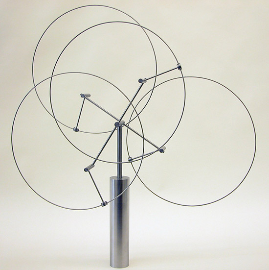 Kinetic sculpture by Anne Lily
