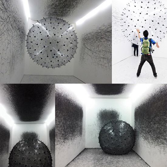 Interactive art installation by Karina Smigla-Bobinski