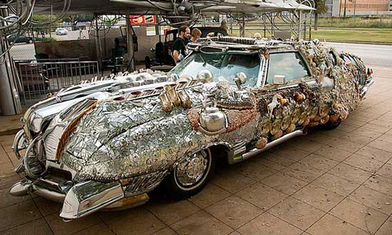 decorated art car