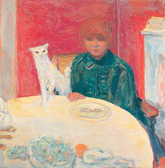 Painting by Bonnard