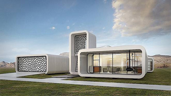 Gensler 3D printed office building in Dubai
