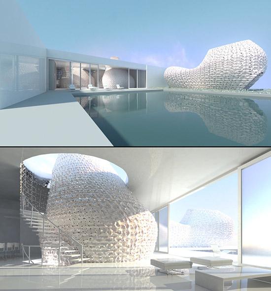 3D printed Rael house