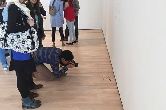 Exhibition at SFMOMA altered by visiting teens