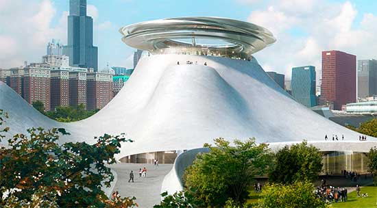 proposal for Lucas Museum in Chicago