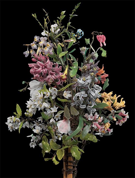 Blaschka glass flowers