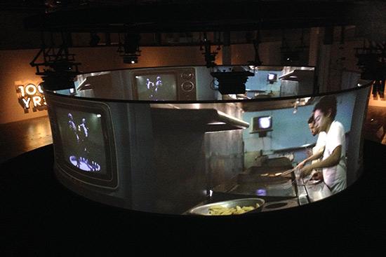 Doug Aitken video installation at the Geffen Contemporary