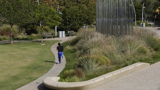 Tongva Park in Santa Monica