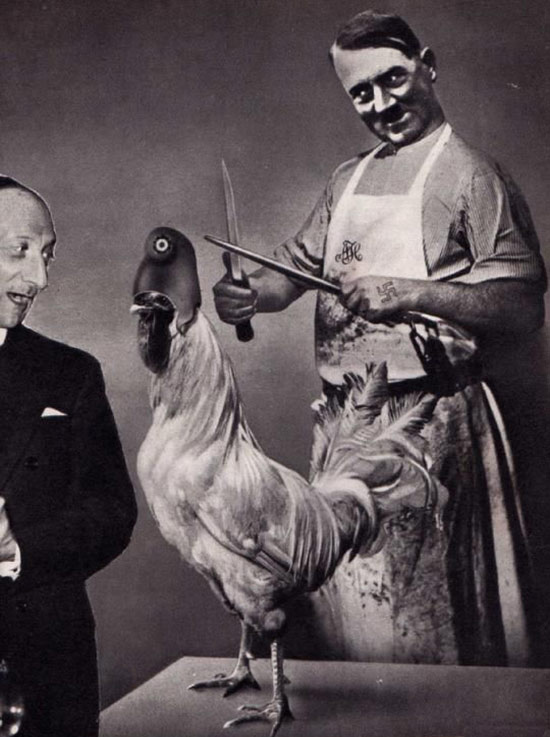 Photomontage by John Heartfield