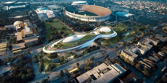 Proposal for Lucas Museum in Los Angeles