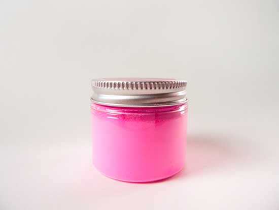 jar of Stuart Semple's PINK pigment