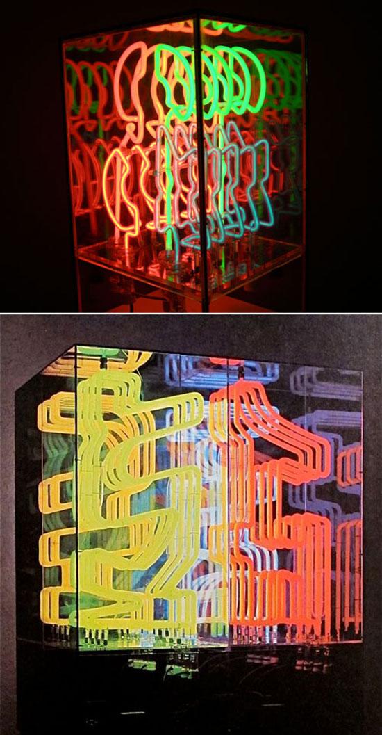 neon art by Chryssa