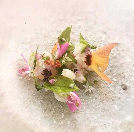 beautifully designed food by Rasmus Kofoed