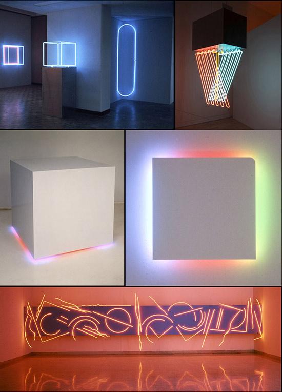 neon art by Stephen Antonakos
