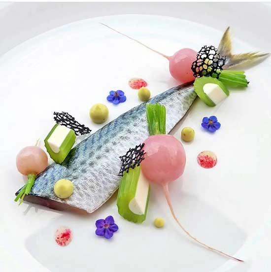 beautifully designed food by Zubeyir Ekicibasi