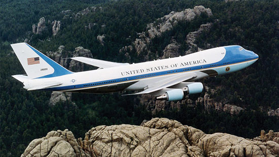 Airforce One designed by Raymond Loewy