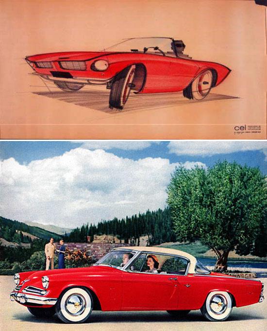 Studebaker car designer by Raymond Loewy