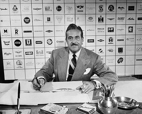 portrait of Raymond Loewy