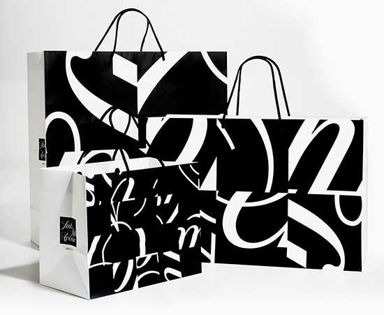 Saks logos by Michael Bierut