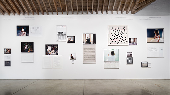 Sophie Calle Take Care of Yourself installation view