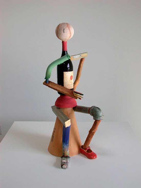 ceramic figure by Richard Shaw