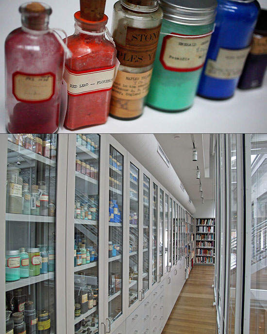 Forbes Pigment Collection at Harvard