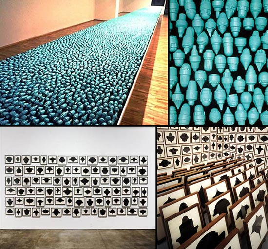 Art installations by Allan McCullum