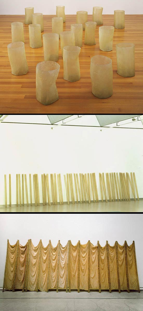 Eva Hesse sculptures